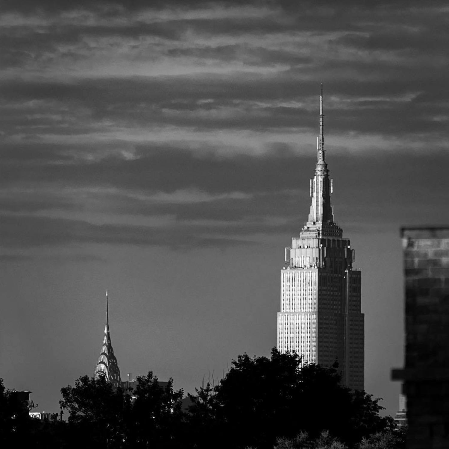 Chrysler and Empire State Buildings, New York, New York