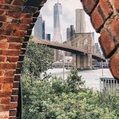 Brooklyn Bridge and Lower Manhattan from DUMBO, Brooklyn