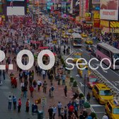 New York Residents take 12.00 seconds to go 60 feet