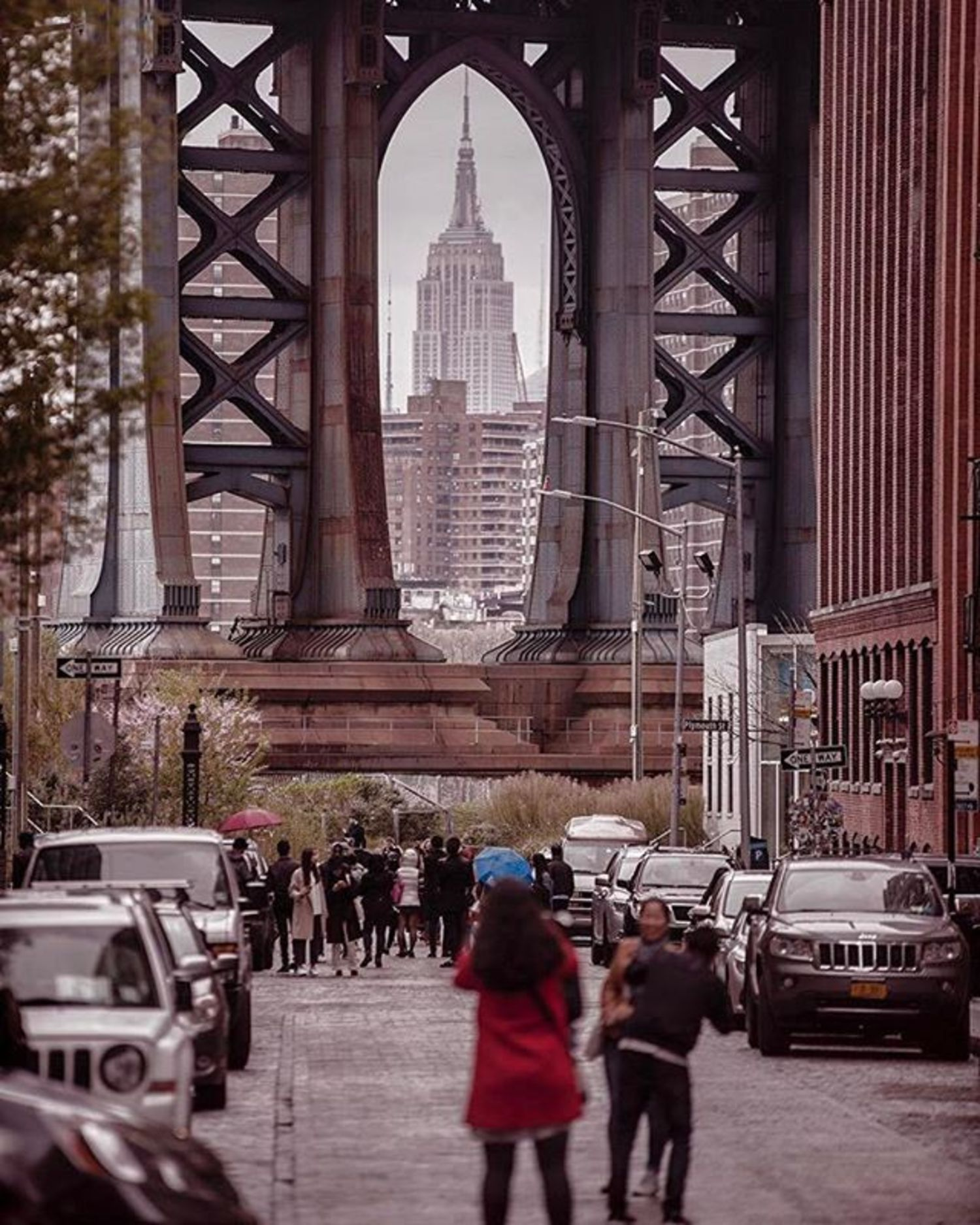 Dumbo, Brooklyn. Photo via @fallinginlove #viewingnyc