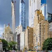 Columbus Circle and Central Park South, Manhattan
