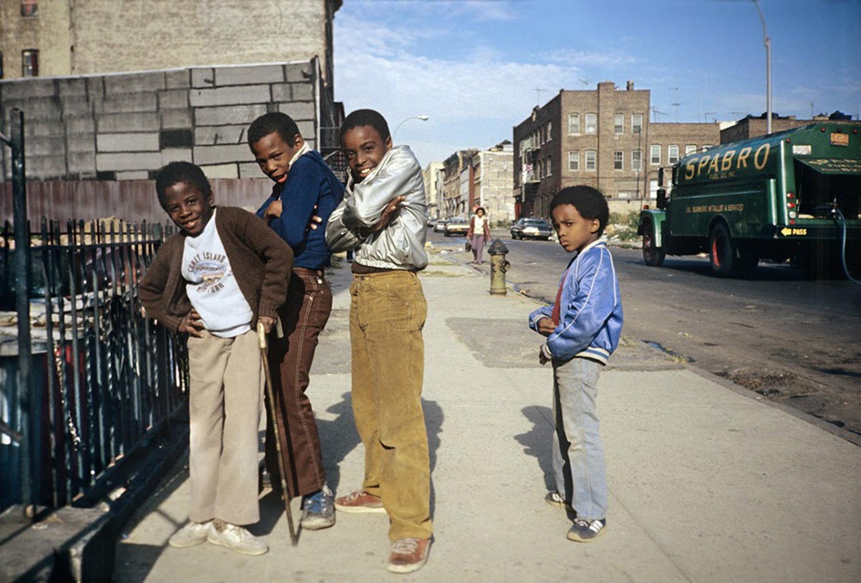 Boyz to Men, Bushwick, Brooklyn, NY, October 1982.