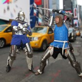 Knights Of New York: Fanatics Take Part In Medieval Fight Club
