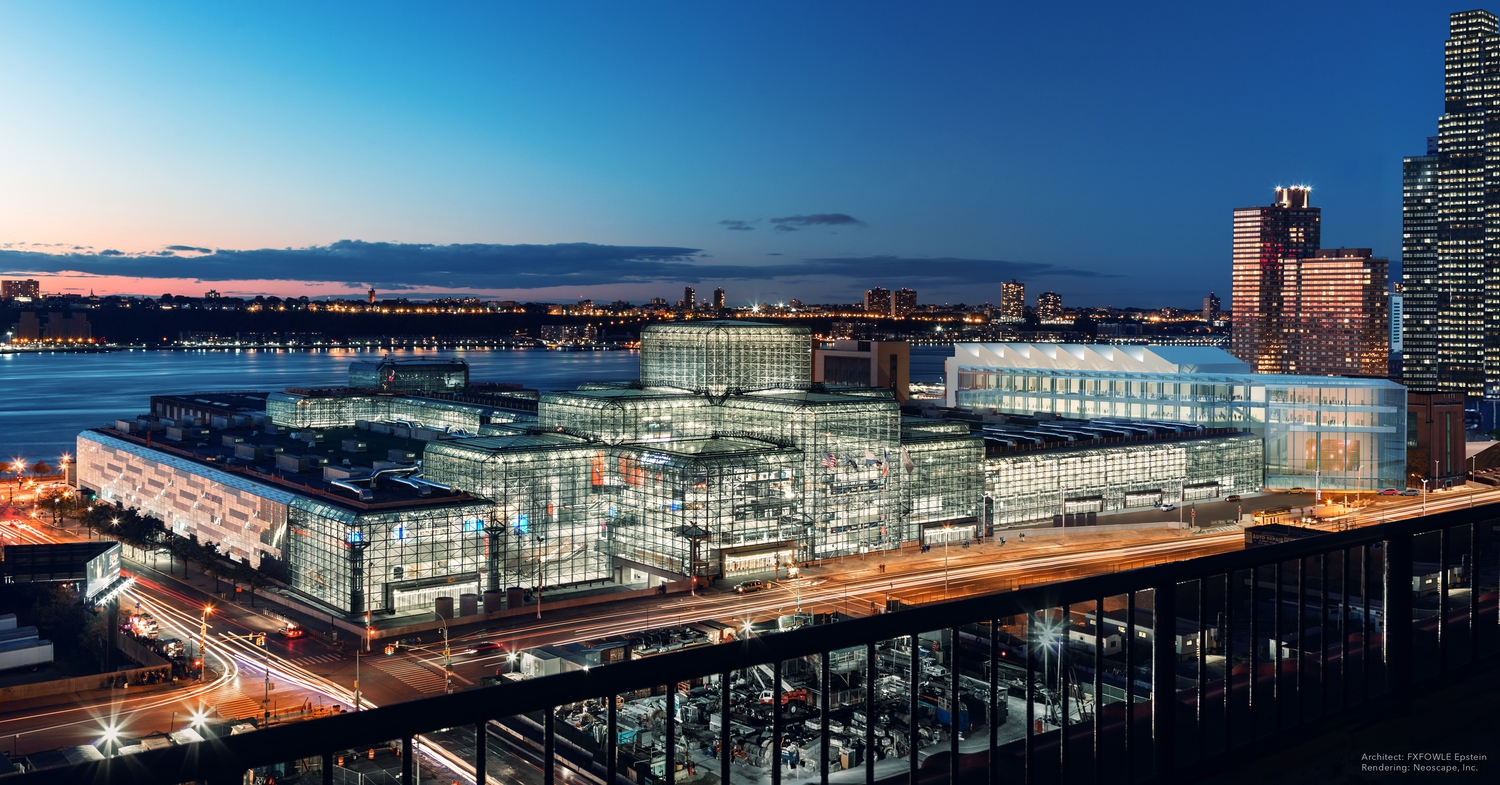 Javits Center: Exterior Expansion