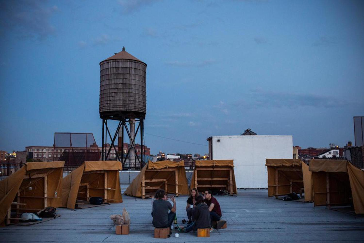 Camp Out on NYC Rooftops for Free