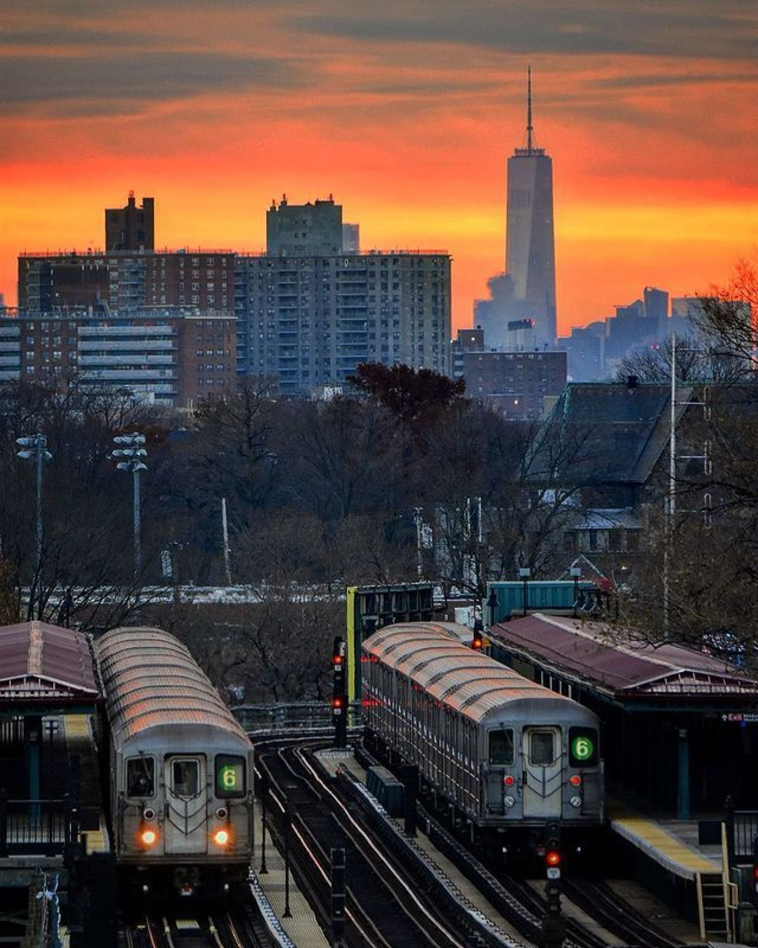 Buhre Avenue Station, The Bronx, New York