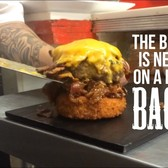 Deep-fried mac & cheese buns carry 'Blazin' burger at J's on the Bay