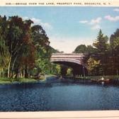 Vintage Postcard - Prospect Park, Brooklyn, N.Y.