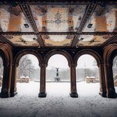 Bethesda Terrace and Fountain, Central Park, Manhattan