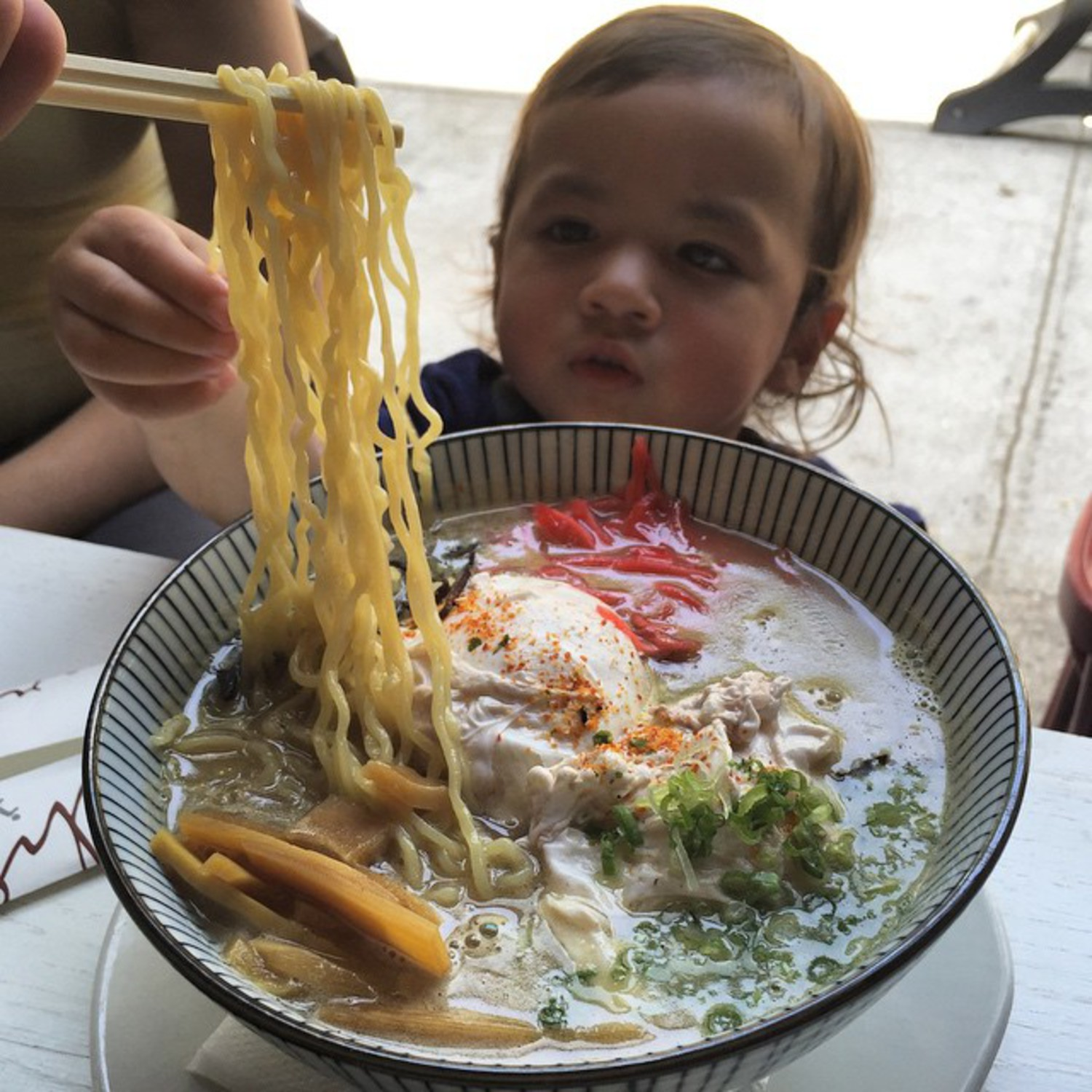 The Breakfast #Ramen at @cherryizakaya is pretty awesome #👶🏽🍜 #cherryizakaya #latergram #foodbabylovescherryizakaya