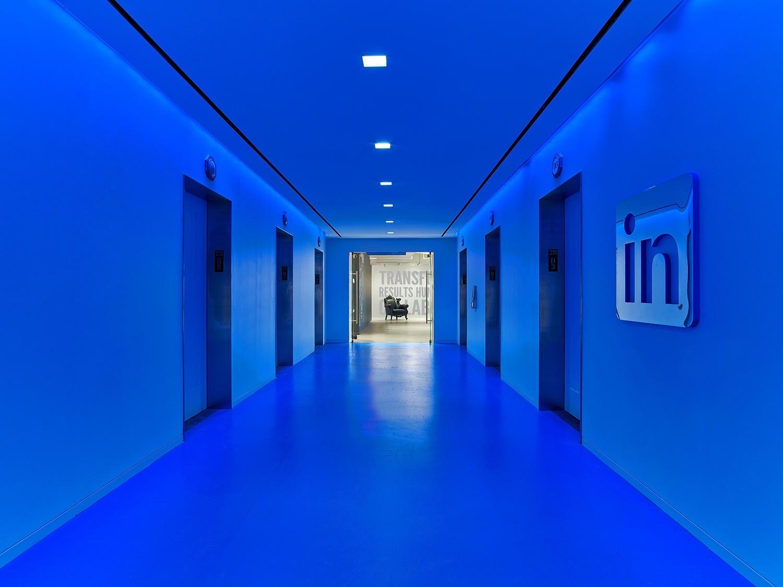 LinkedIn's Lobby