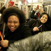 Dj Dance Party on the NYC Subway