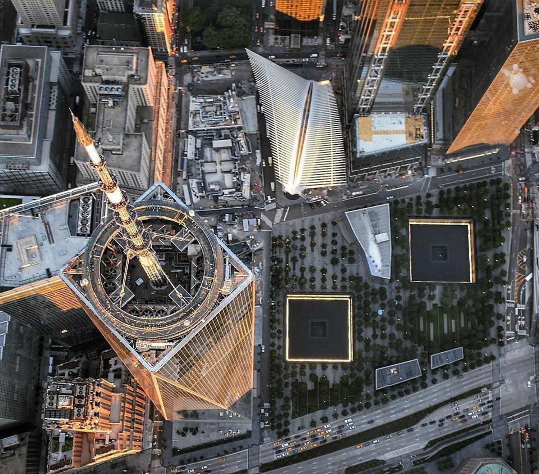 One World Trade Center, New York City. Photo via @montielism #viewingnyc