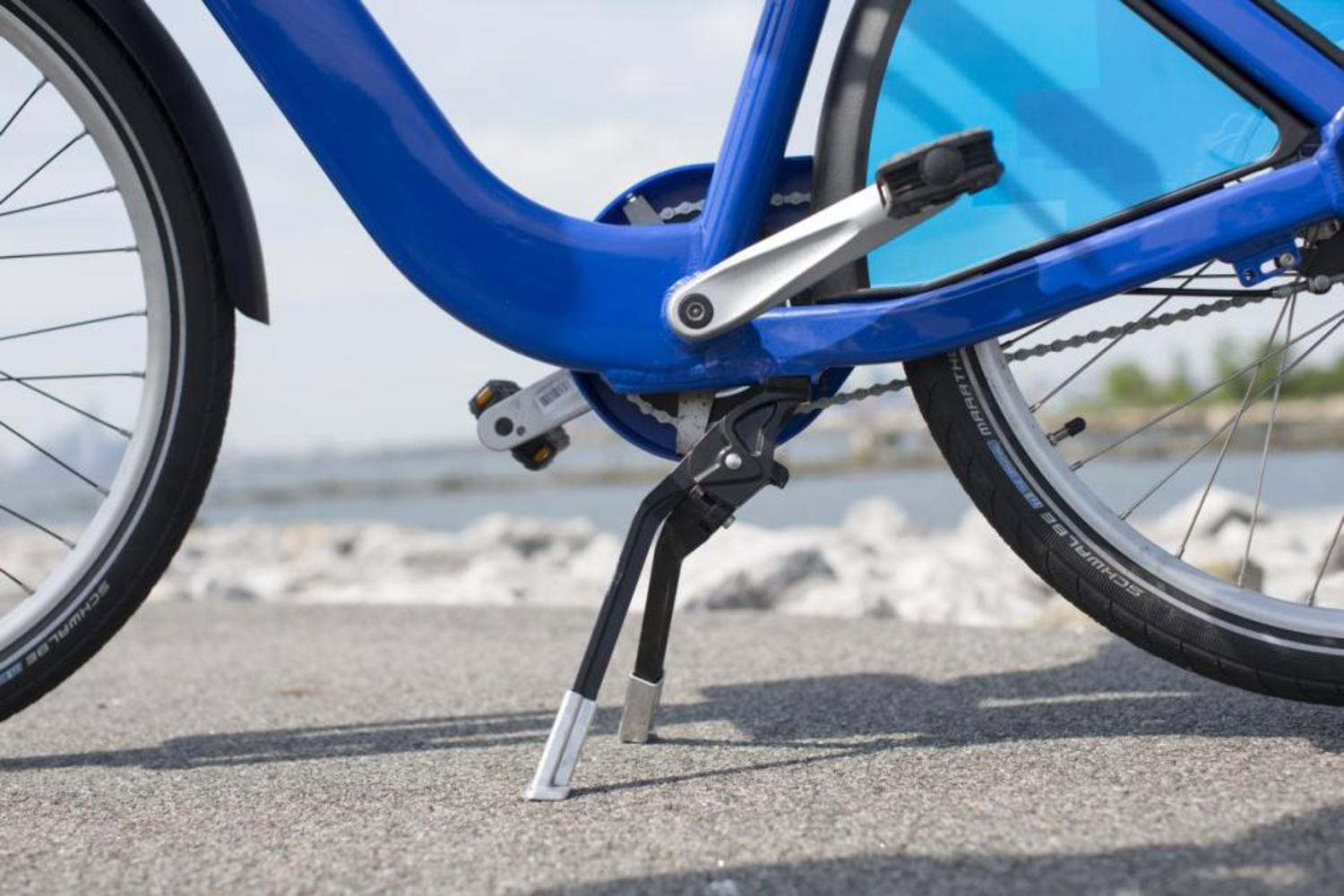 Other improvements include a new gear system — the old one was prone to breaking down, which left fewer bikes on the road because of repairs — and a European-style kick stand, which is more steady.