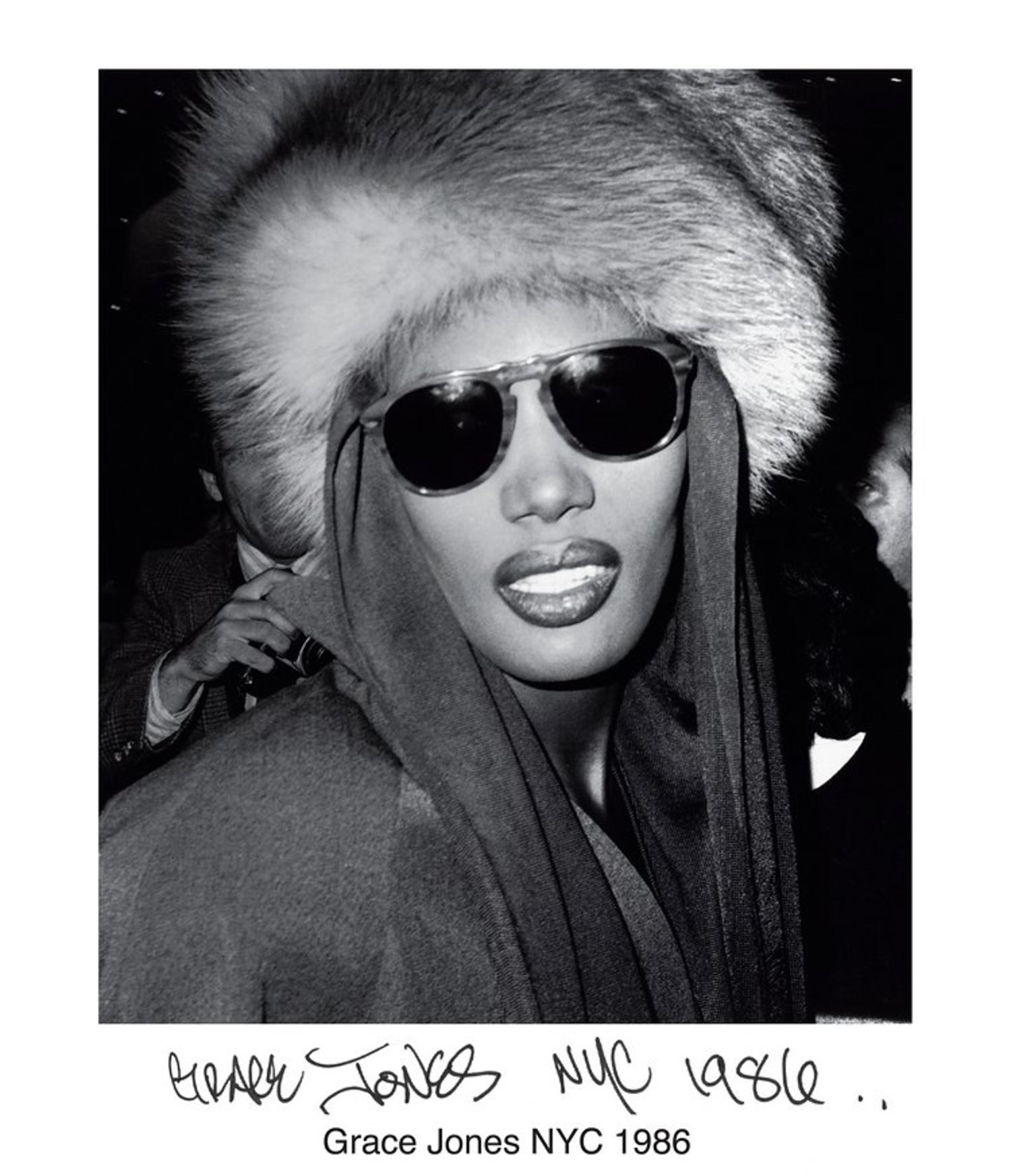 Grace Jones NYC 1986