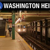 NYC Subway: Washington Heights, Manhattan