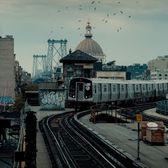 Marcy Av Subway Station, Williamsburg, Brooklyn