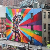 High Line Mural, Kobra, 2012