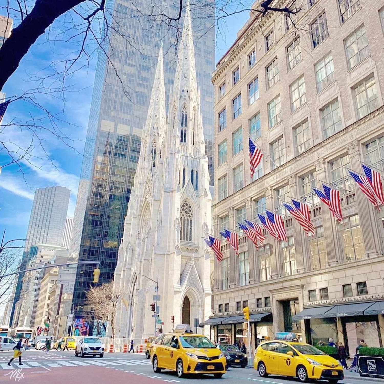 5th Avenue and St. Patricks Cathedral