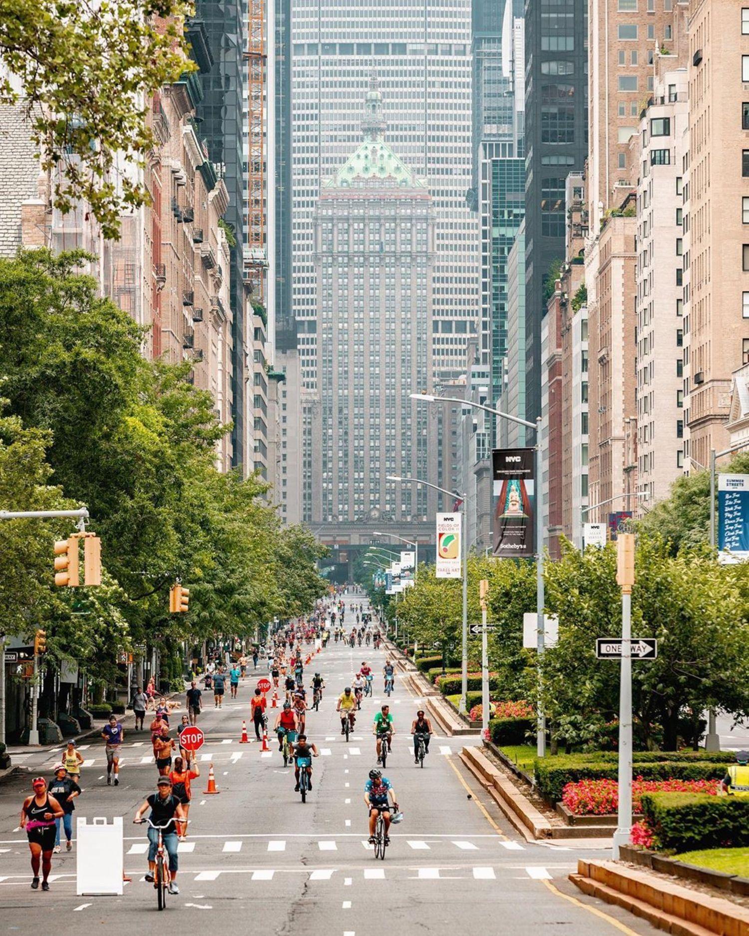 Summer Streets, Park Avenue, Midtown, Manhattan