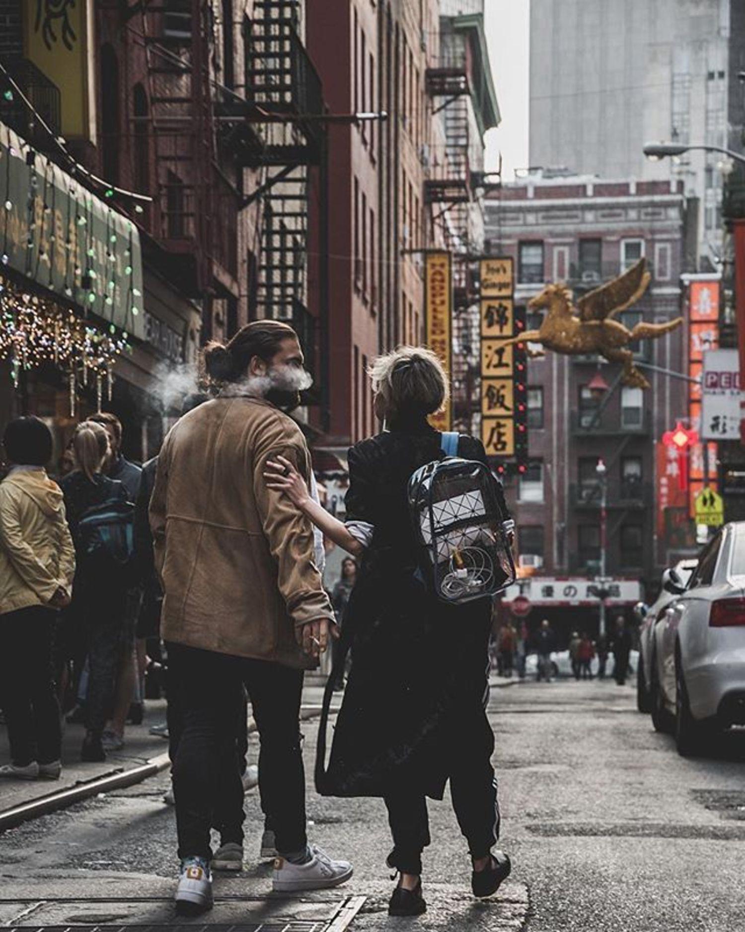 Pell Street, Chinatown, Manhattan. Photo via @papakila #viewingnyc #newyork #newyorkcity #nyc #pellstreet
