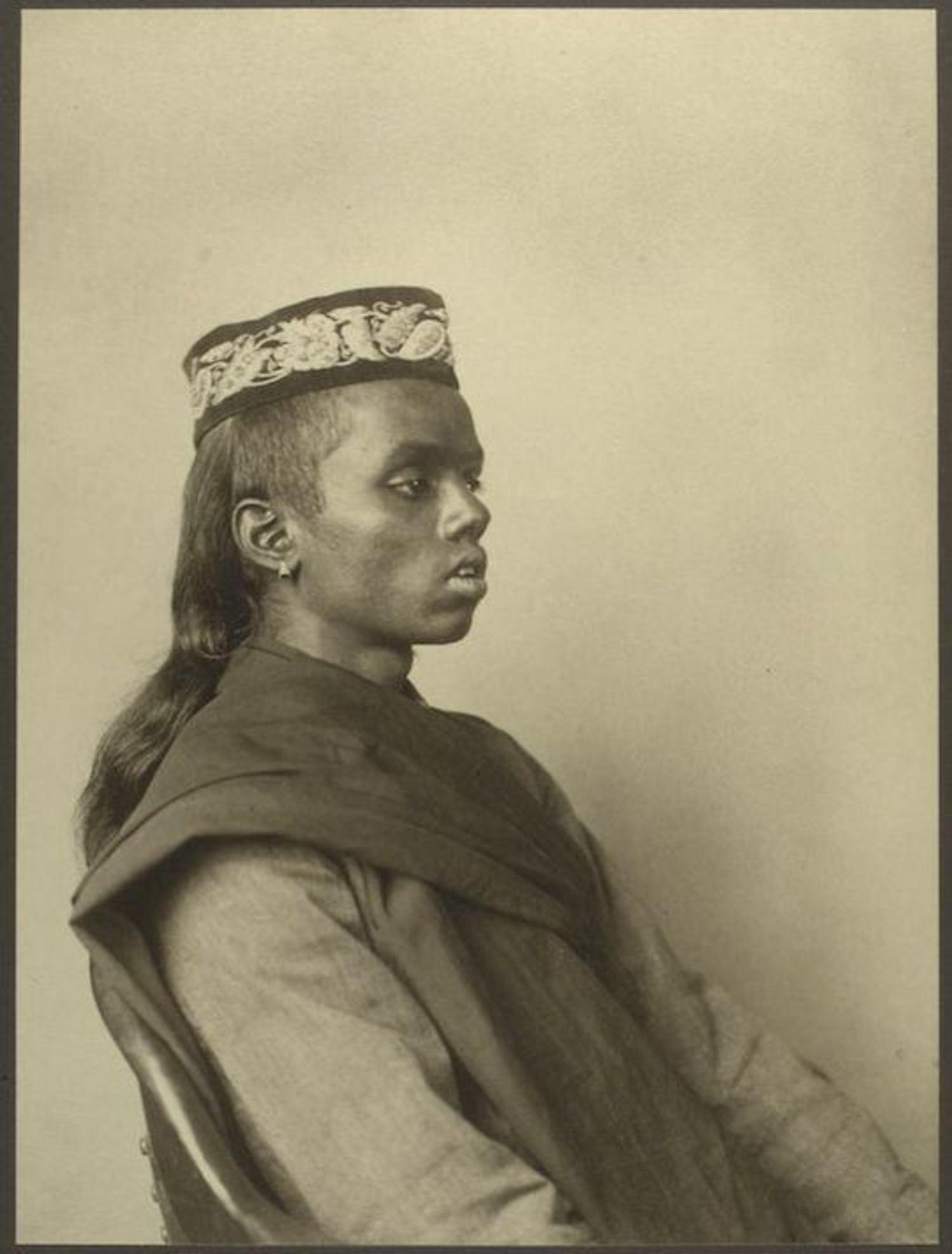 A Hindu boy. Portraits for Ellis Island.