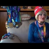 85-year-old runner logs 70 miles per week, runs 365 days per year