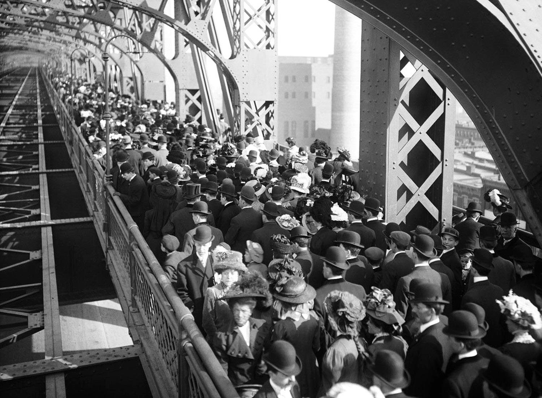 Queensboro Bridge, 1909