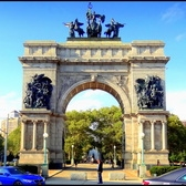 Soldiers and Sailors Memorial Arch | Grand Army Plaza, Brooklyn, New York