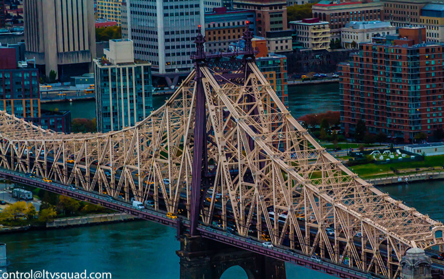 The Queensboro bridge again – star of many movies.