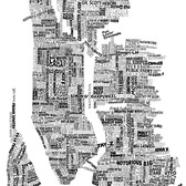 New York Music Map