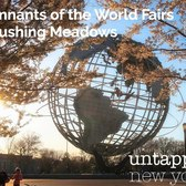 Remnants of the World's Fair Flushing Meadows