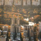 Sunrise Over Central Park, Manhattan