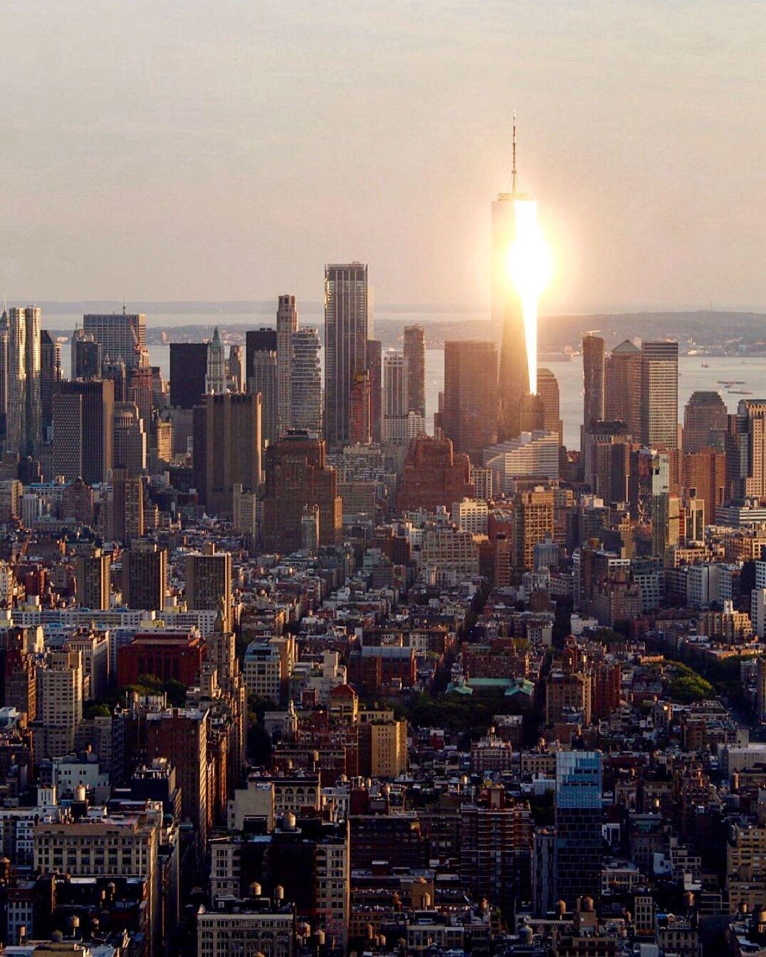 Golden Hour over Lower Manhattan