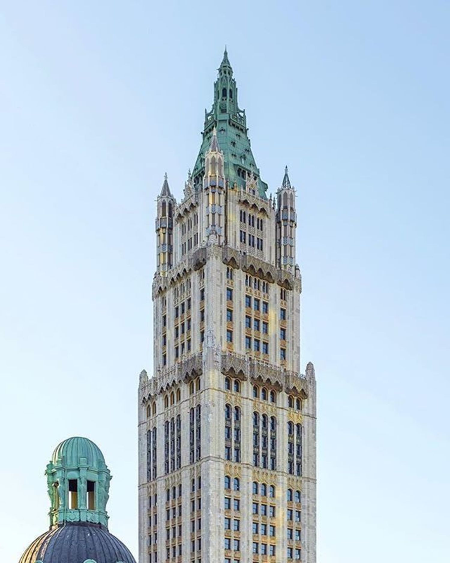 Woolworth Building, New York, New York. Photo via @ch3m1st #viewingnyc #newyork #newyorkcity #nyc