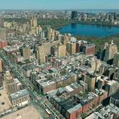Above New York: Aerial View of Manhattan's Upper West Side