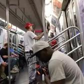 Nope. #subwaycreatures (@juvnguerrero)