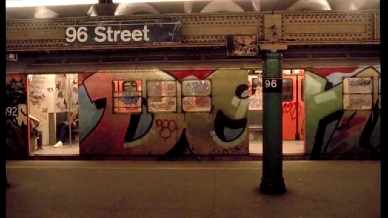 Watch this 3 minute slideshow of new york city subway graffiti in the 1970s and 1980s viewing nyc