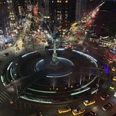 Columbus Circle, New York. Photo via @iwyndt #viewingnyc #nyc #newyork #newyorkcity #columbuscircle