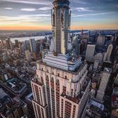 Empire State Building, New York, New York.
