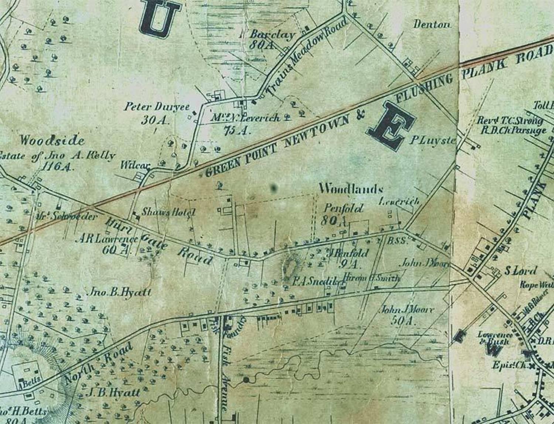 Woodside, Queens, 1852