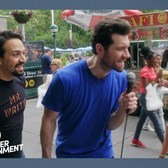 Billy on the Street with LIN-MANUEL MIRANDA!!!