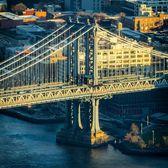 Manhattan Bridge from up above.