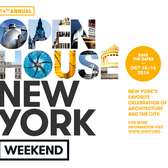 Open House New York Weekend October 15-16, 2016