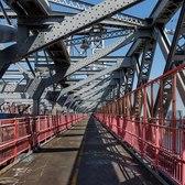 Walking NYC (ASMR no talk) Manhattan to Brooklyn Over Wiliamsburg Bridge May 15, 2021