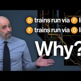 Brooklyn D and F Train Swap Explained