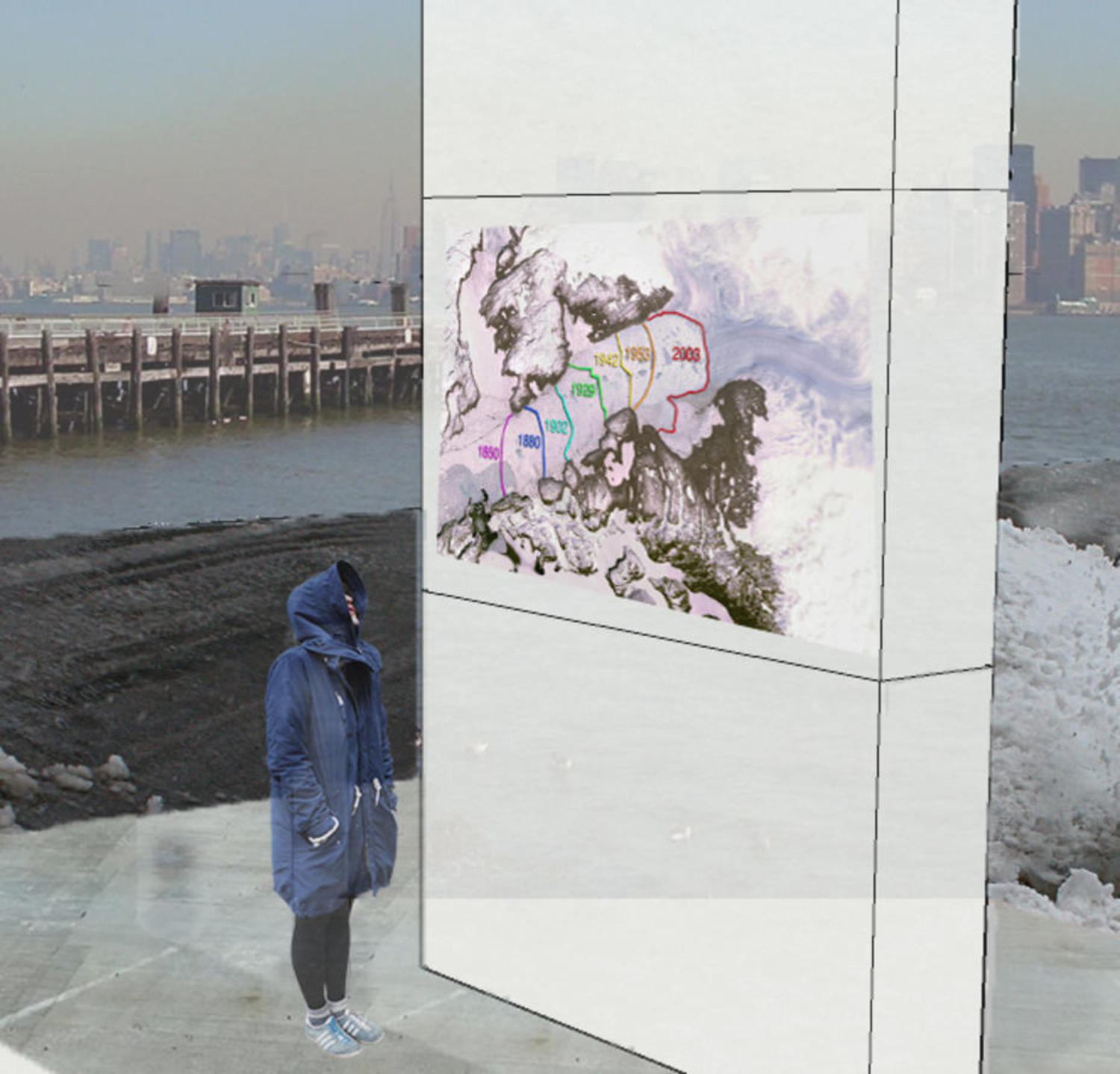 Illustration from RISD student Ann McKinnon's proposal for the future Climate Museum