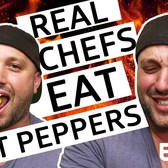 Real Chefs Eat Hot Peppers With Executive Chef Will Horowitz [SPONSORED]