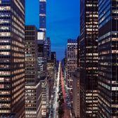 Park Avenue from Helmsley Building, Midtown, Manhattan