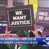 Marches All Over NYC Protesting the Not-Guilty Verdict in the Eric Garner Case